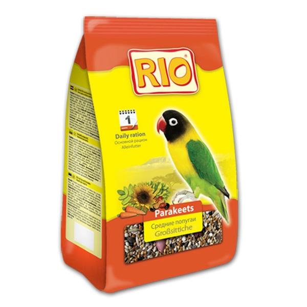 Корм Рио для средних попугаев 500гр