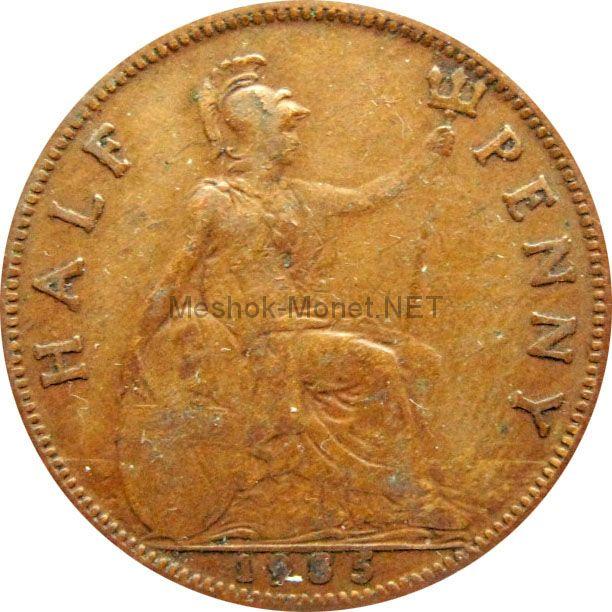 Великобритания 1/2 пенни 1935 г.