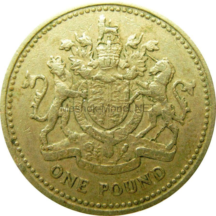 Великобритания 1 фунт 1983 г.