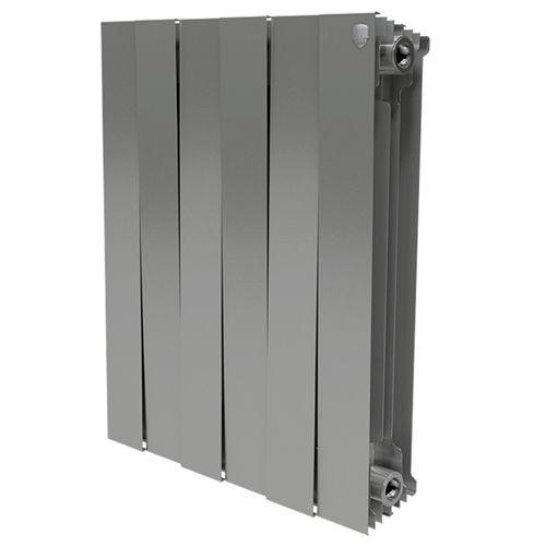 Радиатор Royal Thermo PianoForte Silver 500 x6