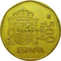 Испания 500 песет 1987 г.