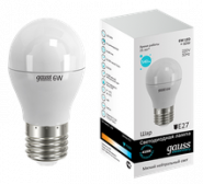 Лампа Gauss LED E27 6W 4100K