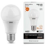 Лампа Gauss LED E27 10W 220V 2700K