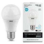 Лампа Gauss LED E27 10W 220V 4100K