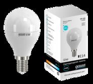 Лампа Gauss LED E14 6W 4100K
