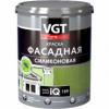 Краска Фасадная Силиконовая VGT Premium IQ159 9л (13кг) Долговечная / ВГТ Премиум