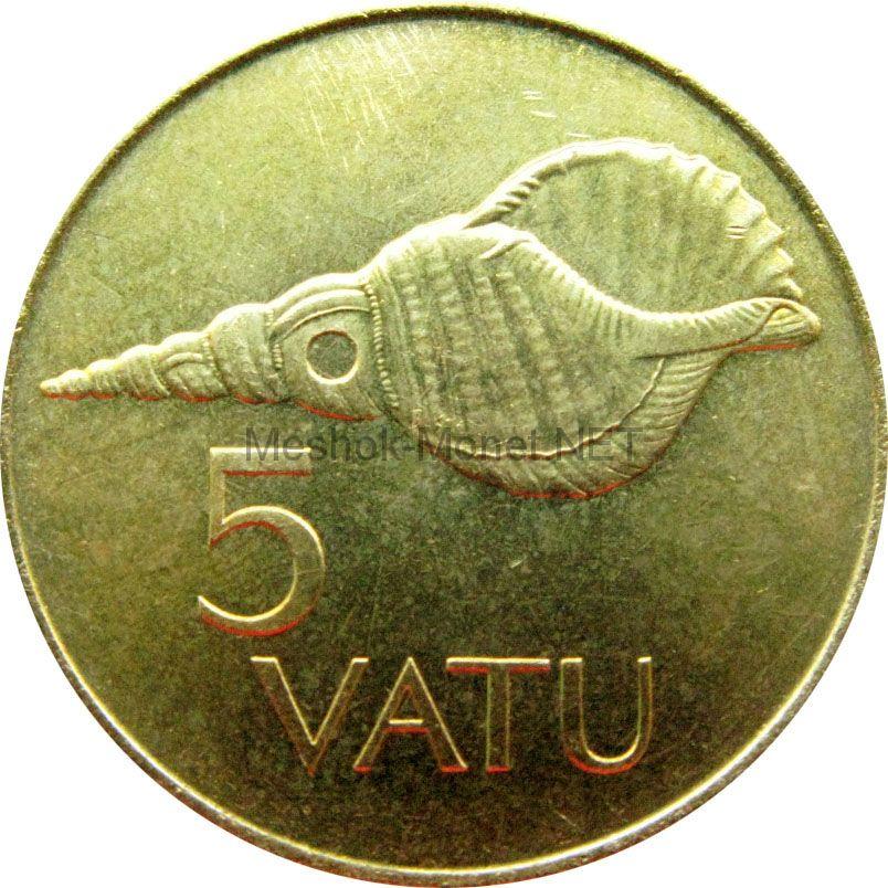Вануату 5 вату 1990 г.