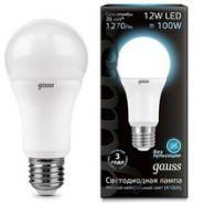 Лампа Gauss LED E27 12W 4100K