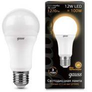 Лампа Gauss LED E27 12W 2700K
