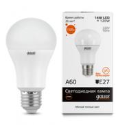 Лампа Gauss LED 15W E27 2700K