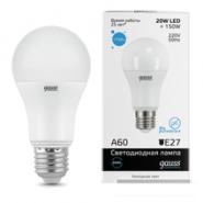 Лампа Gauss LED 20W E27 6500K