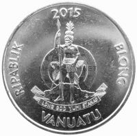 Вануату 50 вату 2015 г.