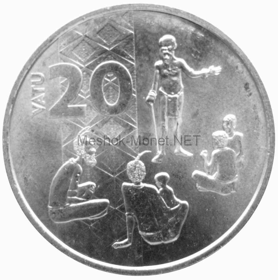 Вануату 20 вату 2015 г.
