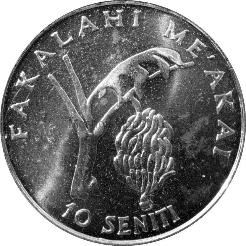Тонга 10 сенити 2005 г.