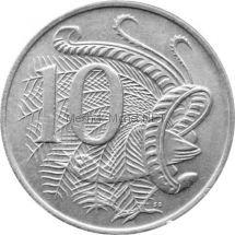 Австралия 10 центов 1969 г.