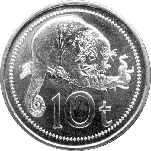 Папуа-Новая Гвинея 10 тоа 2010 г.