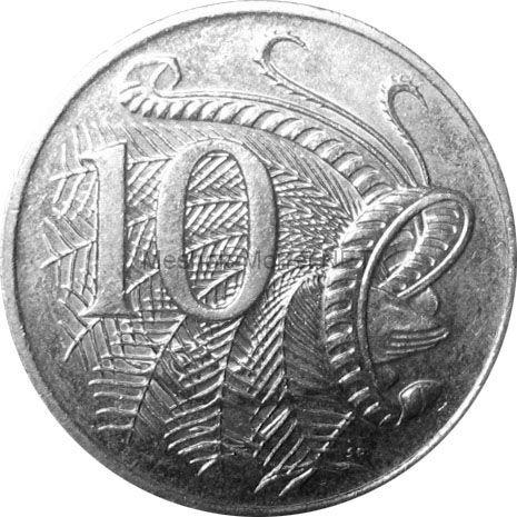 Австралия 10 центов 2010 г.