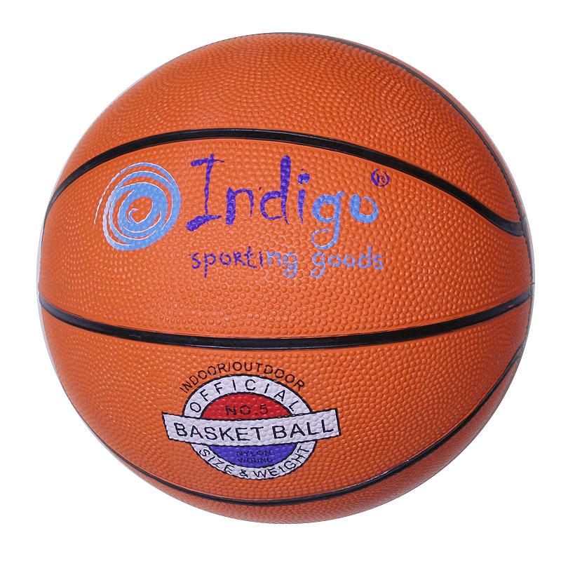 Мяч баскетбольный №7 INDIGO TBR-7300