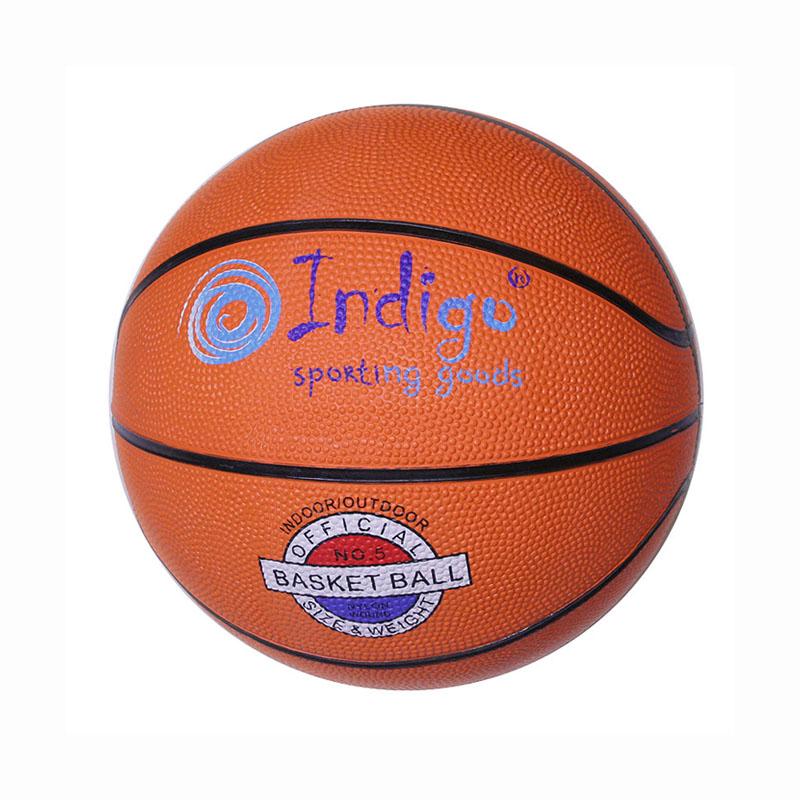 Мяч баск №5 INDIGO TBR-7300
