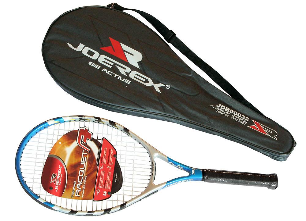 Ракетка для большого тенниса JOEREX JDB00032 в чехле, начальный уровень