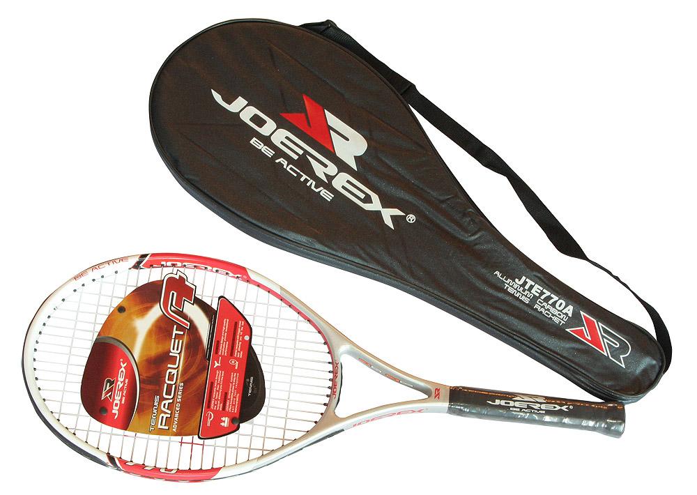 Ракетка для большого тенниса JOEREX JTE770A в чехле, начальный уровень