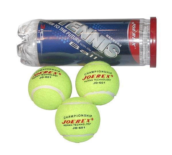 Мяч для большого тенниса JOEREX JO601. 3 штуки.