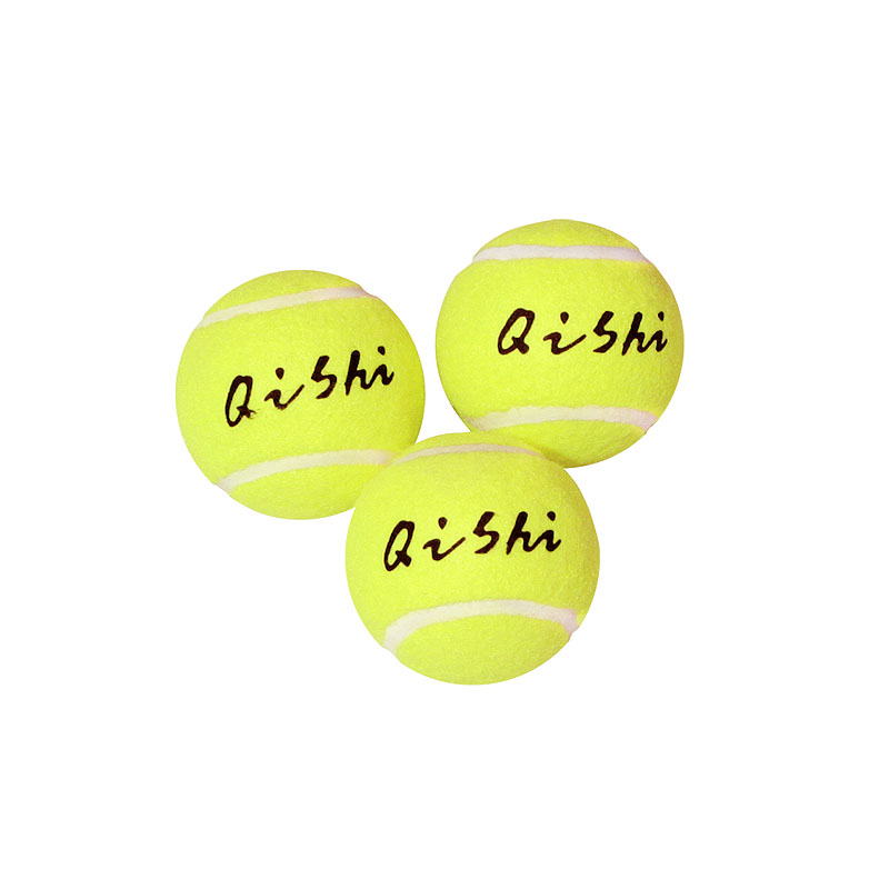 Мяч для большого тенниса QISHI T716 3 шт
