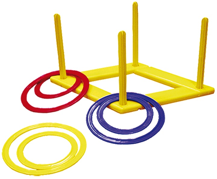 Игра детская Кольцеброс на 5 колец У 653