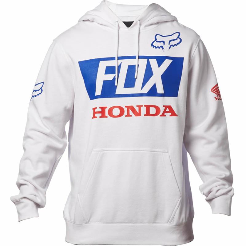 Fox - Honda Basic толстовка, белая