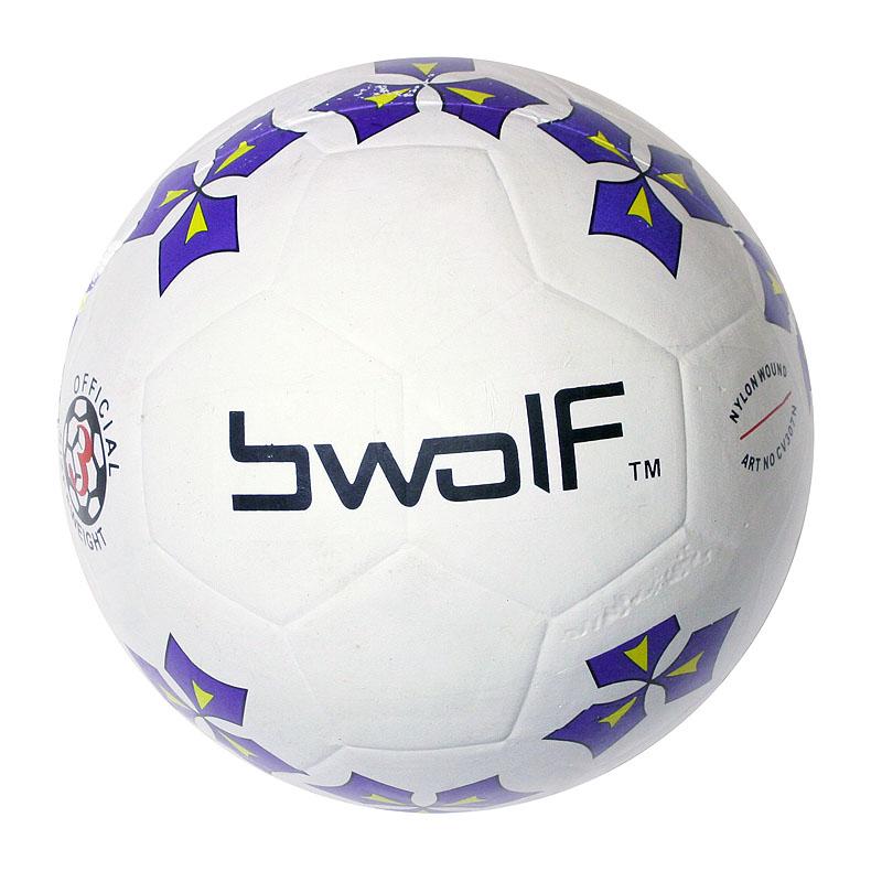 Мяч футбольный резиновый BWOLF TFR5201 №4