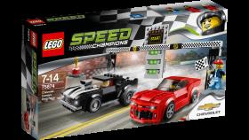 Lego Speed Champions 75874 Гоночная трасса Шевроле Камаро