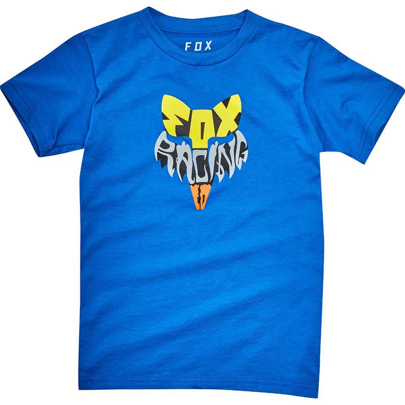 Fox - Kids Lyruh SS Tee True Blue футболка детская, синяя