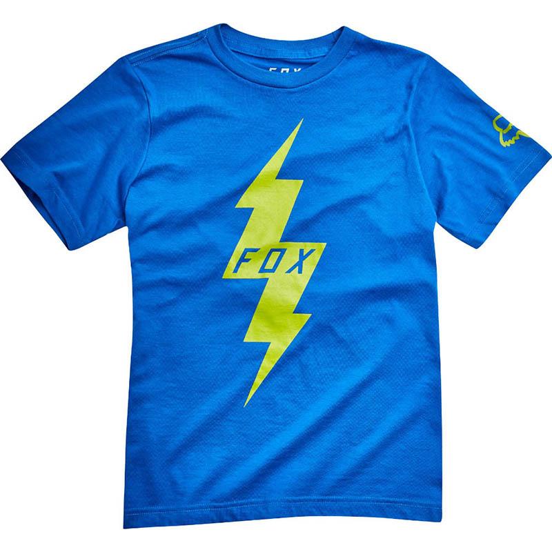 Fox - Youth Pre Mortum SS Tee True Blue футболка подростковая, синяя