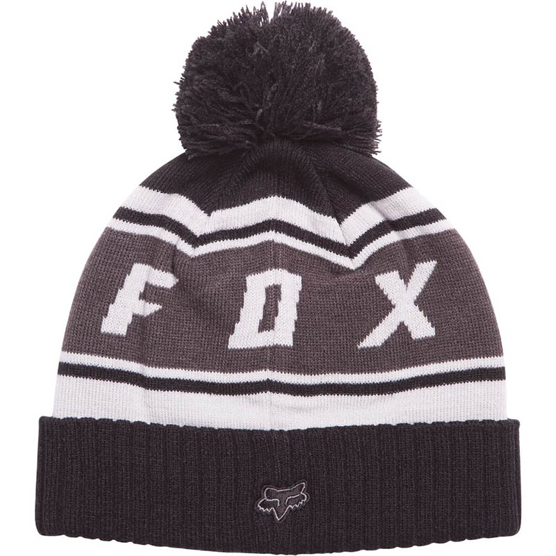 Fox - Black Diamond Pom Beanie Black шапка, черная