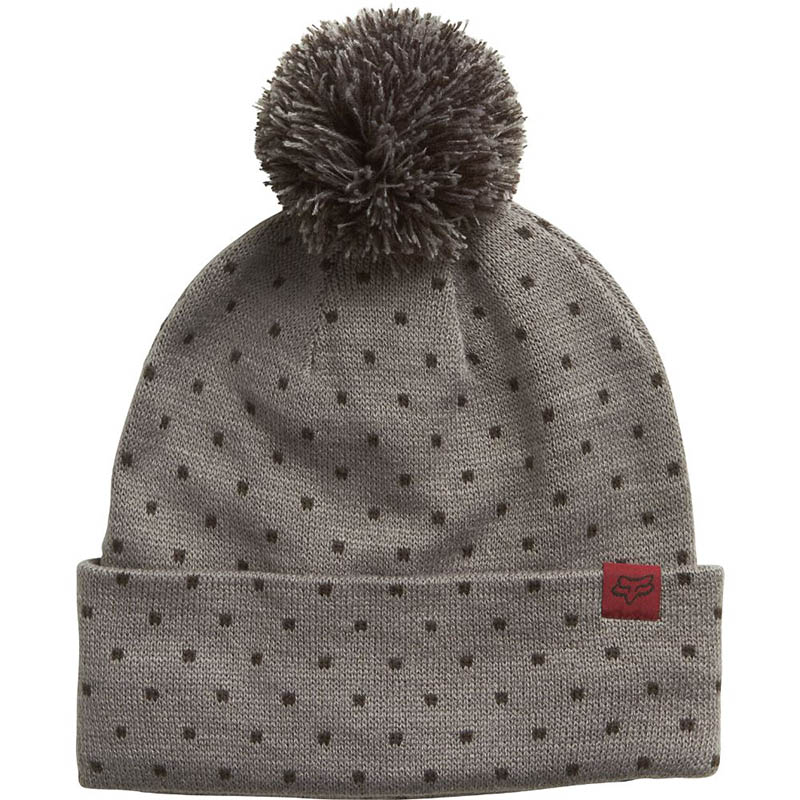 Fox - Snow Bunny Beanie Grey шапка женская, серая