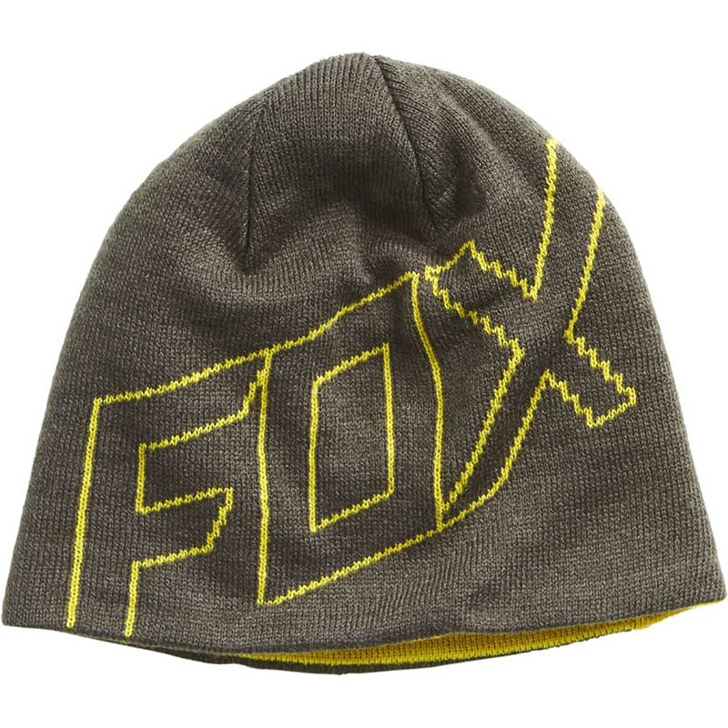 Fox - Ride Beanie Black Vintage шапка, черная