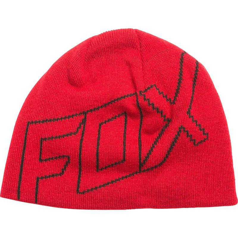 Fox - Ride Beanie Dark Red шапка, красная