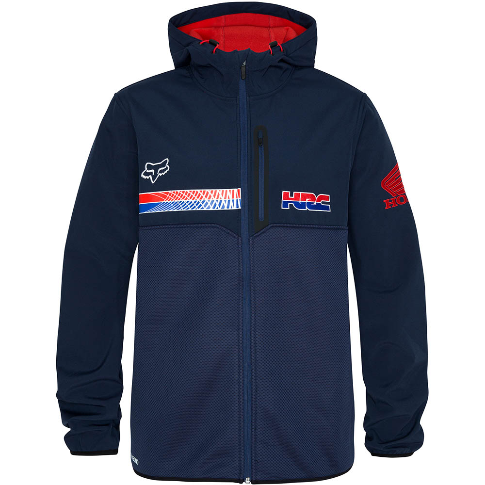 Fox - HRC Gariboldi Roosted Jacket Navy куртка, синяя