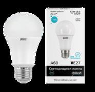Лампа Gauss LED 12W E27 4100K