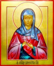 Крискентия Римская (рукописная икона)
