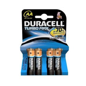 "Алкалиновая батарейка AA/LR6 ""Duracell Turbo Max"" 1.5v 4 шт."