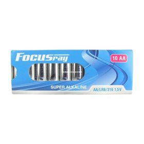 "Алкалиновая батарейка AA/LR6 ""Focusray"" 1.5v 10 шт."
