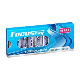 """Алкалиновая батарейка AAA/LR03 """"Focusray"""" 1.5v 10 шт."""