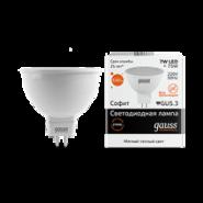 Лампа Gauss LED MR16 7W 2700K