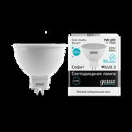 Лампа Gauss LED MR16 7W 4100K
