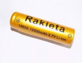 """Литиевый аккумулятор 18650 """"Ракета"""" 12000 mAh 3.7v"""