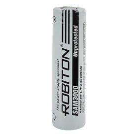 """Литиевый аккумулятор 18650 """"Robiton"""" 3000 mAh 3.7v (Samsung)"""