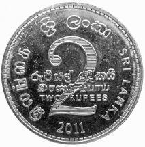 Шри-Ланка 2 рупии 2006 г.
