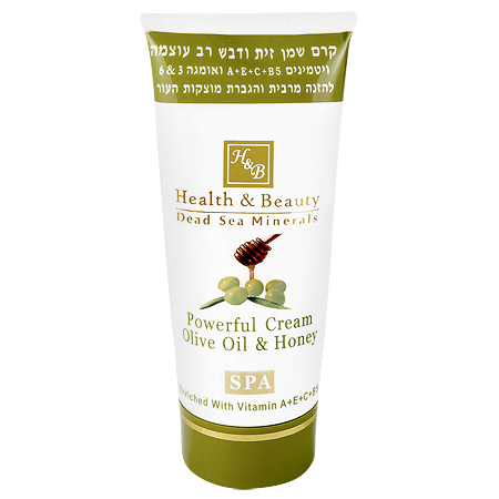 Питательный и увлажняющий универсальный крем Оливковое масло и Мед Health & Beauty (Хелс энд Бьюти) 100 мл