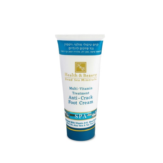 Мультивитаминный крем для ног, против трещин Health & Beauty (Хэлс энд Бьюти) 100 мл